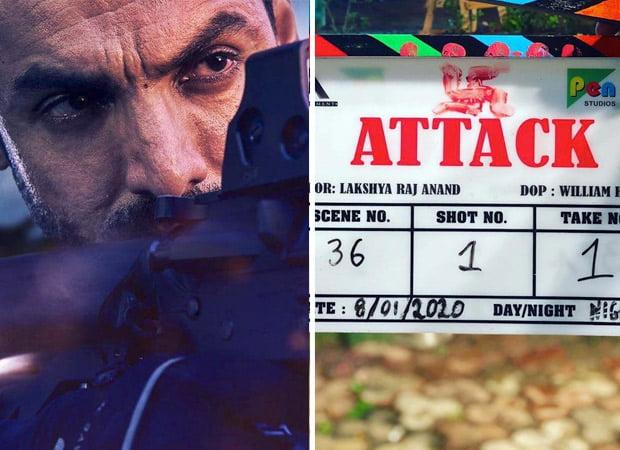 John Abraham begins shooting for his upcoming film, Attack!