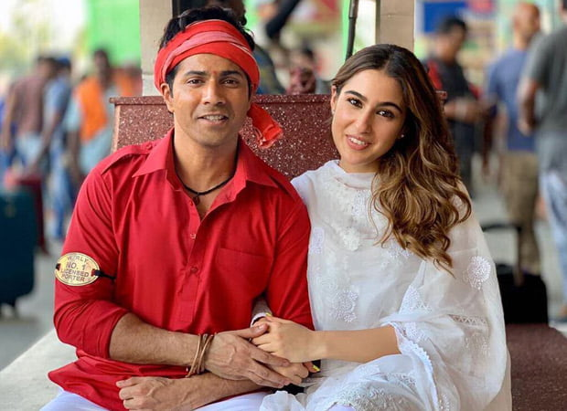 Varun Dhawan and Sara Ali Khan to dance to 'Main Toh Raste Se Jaa Raha Tha'