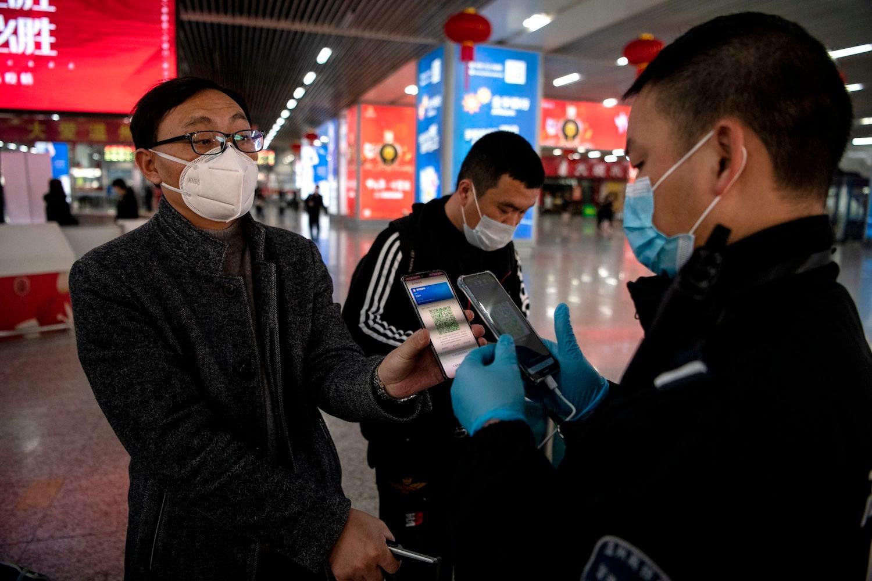 china coronavirus green code app
