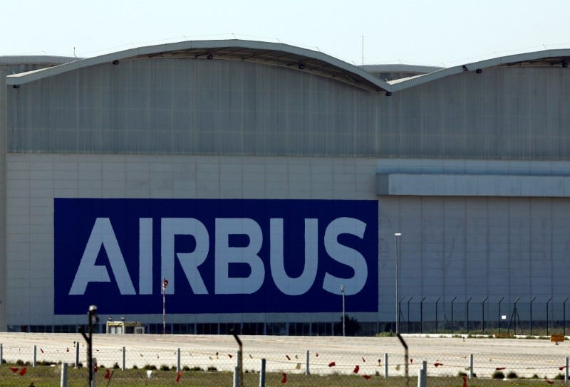 FILE PHOTO: An Airbus assembly plant in Seville, southern Spain, February 21, 2020. REUTERS/Marcelo del Pozo/File Photo