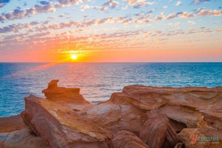 Gantheaume Point sunset - Broome, Western Australia