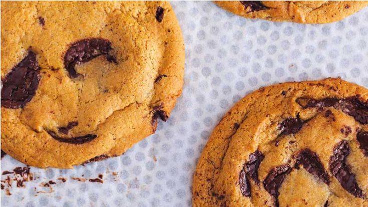 Pret A Manger Dark Chocolate Chunk Cookies