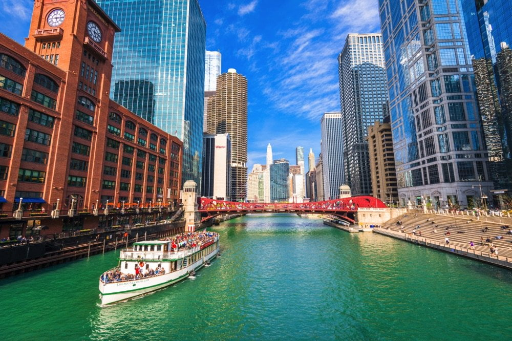 river in chicago attractions